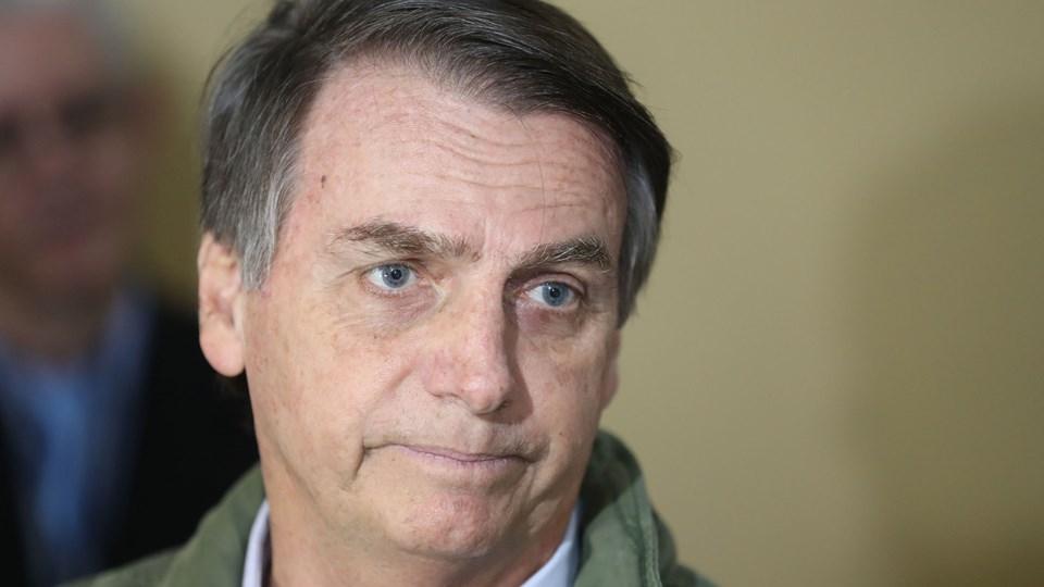 Den nyvalgte højreorienterede præsidentkandidat i Brasilien, Jair Bolsonaro, bekræfter, at han vil flytte sit lands ambassade i Israel til Jerusalem.