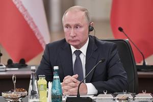 Putin ved profileret topmøde: Vi kan nærme os fred i Syrien