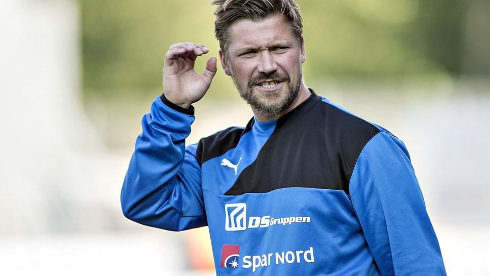 Den tidligere Hobro- og Esbjerg-træner Jonas Dal er cheftræner i 1. divisionsklubben FC Fredericia. (Arkivfoto)