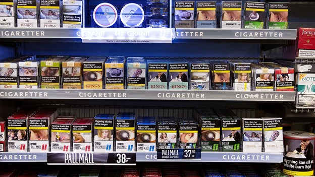 Kun tre butikker straffet for at sælge cigaretter til børn