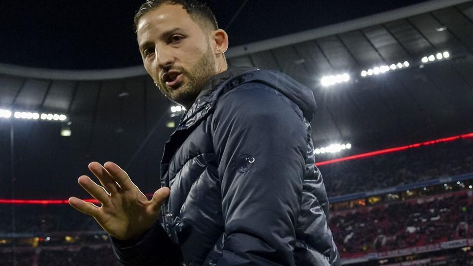 Domenico Tedesco er ikke længere træner i Schalke 04. 0-7-nederlaget til Manchester City blev hans sidste kamp i spidsen for storklubben.