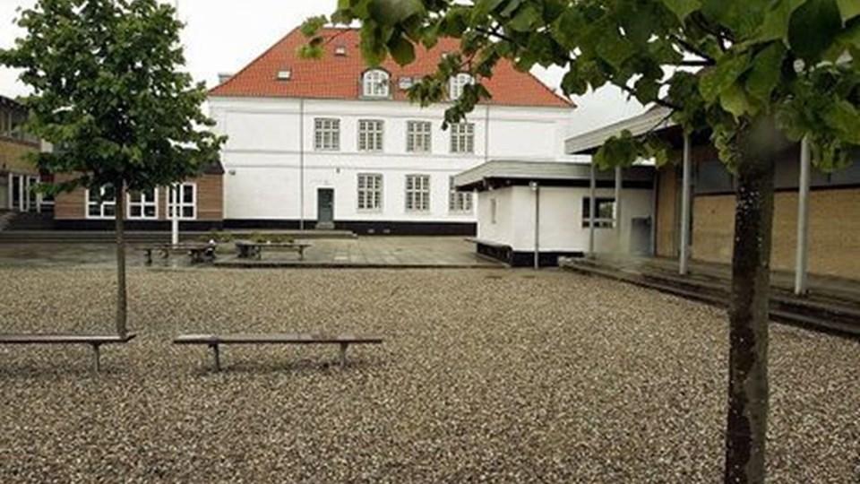 Realskolen i Aalestrup har siden 1970 undervist overbygnings-elever fra Aaelstrup Kommune.