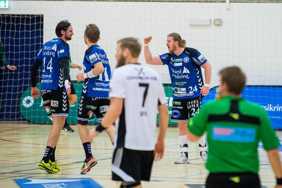 Mors-Thy-BSV håndbold, thy hallenFoto: Diana Holm