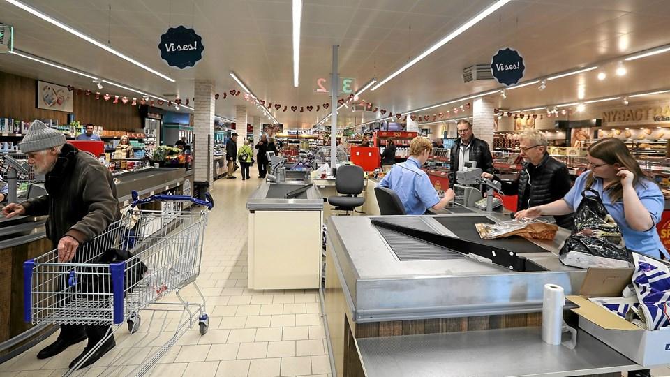 Den nye butik udgør nu 865 kvadratmeter. Foto: Allan Mortensen Allan Mortensen