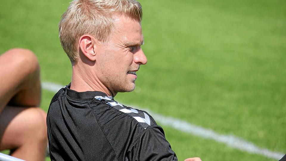Jammerbugt FC med Martin Pedersen i spidsen trak FCK. Foto: Flemming Dahl