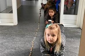 Affaldsuge i børnehaven Svanereden