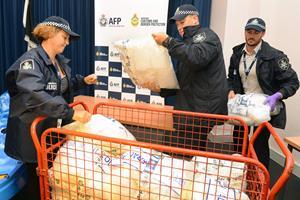 Australsk politi beslaglægger 1,6 ton metamfetamin