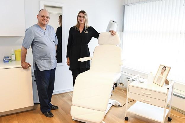 Larsen & Vorum – Kosmetisk Klinik Nord på Nørrebro i Hjørring er åbnet - Annie K. Larsen og Henrik Vorum inviterer til åbningsreception fredag 16. november.