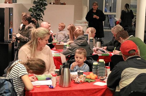 Julehygge i Sparekassen Vendsyssel i Vrå