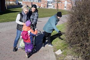 Væk med affaldet: Hanstholm gjort forårs-ren
