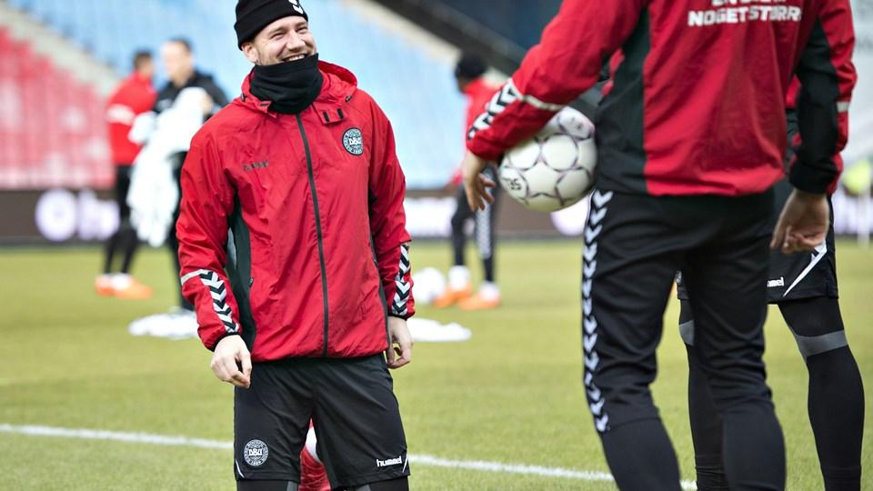Nicklas Bendtner og Rosenborg har fået en skidt sæsonstart, og klubben har de seneste dage hentet en forsvarsspiller og en offensivspiller til truppen. Foto: Scanpix/Henning Bagger