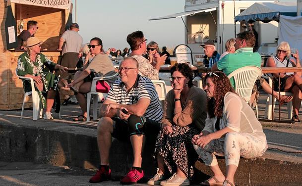 Succesfuld havnefest i Ålbæk