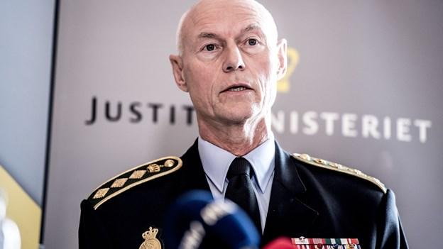 Medier: Den øverste chef for dansk politi vil på pension
