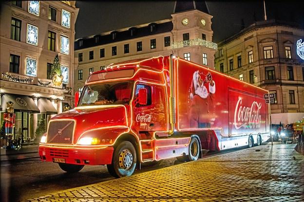 Julelastbilen gæster Frederikshavn 11. december