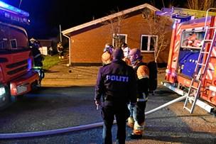 Voldsom røg ved brand: 37-årig mand død