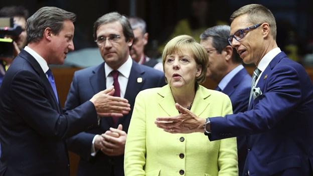 EU's jobkabale endte helt uden navne