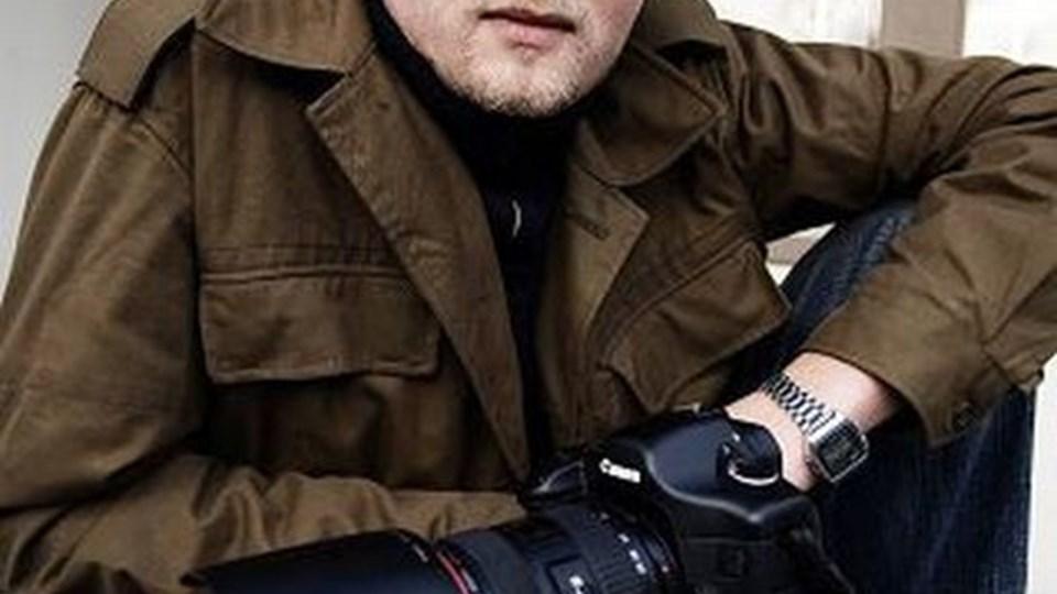 Kristian Djurhuus er snart fotojournalist. 8. februar fortæller han hjemme i Hellum.Foto: Martin Kurt Haglund