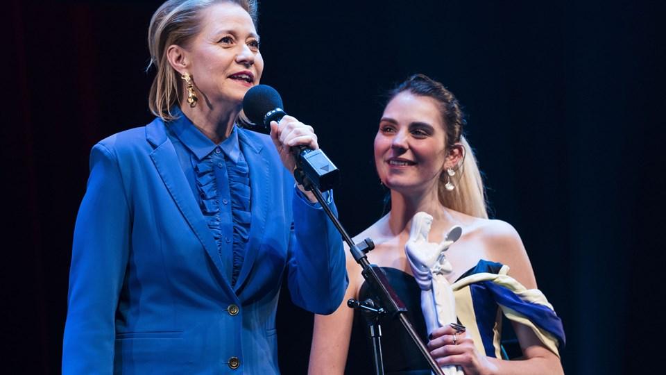 Trine Dyrholm er en af de skuespillerinder, der har medvirket i mange af DR's store dramaproduktioner. Foto: Scanpix/Martin Sylvest