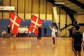 DGI sørgede for  flot gymnastikopvisning