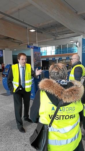 RAV på besøg i Aalborg Lufthavn