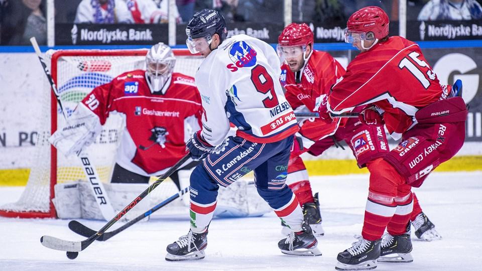 Søren Nielsen scorede et vigtigt mål for Frederikshavn i Herlev.Arkivfoto: Lars Pauli