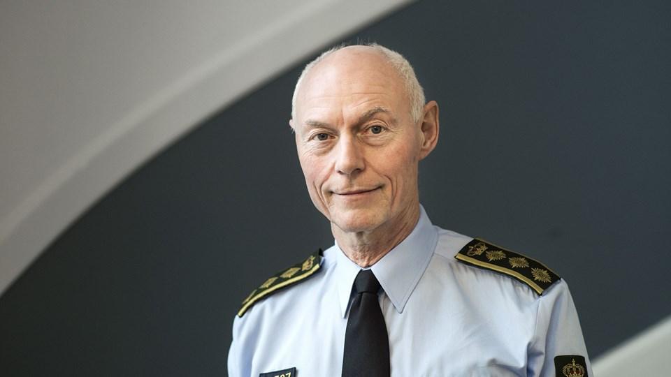 Rigspolitichef Jens Henrik Højbjerg har lovet, at reglerne om udbud skal overholdes af Rigspolitiet. Foto: Scanpix/Sofie Mathiassen/arkiv