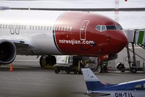 Flyveforbud har givet lidt flere aflysninger hos Norwegian