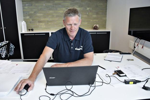 Vendsyssel FF  Vraa  Sportsdirektør i Vendsyssel FF Mogens Krogh  Foto Claus Søndberg