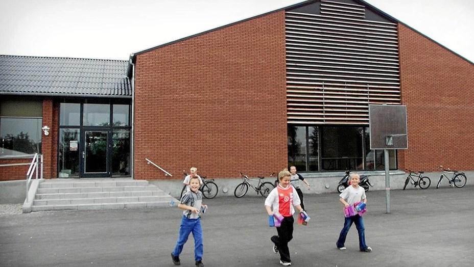 Børnehave flytter ind på skolen i Ravnkilde