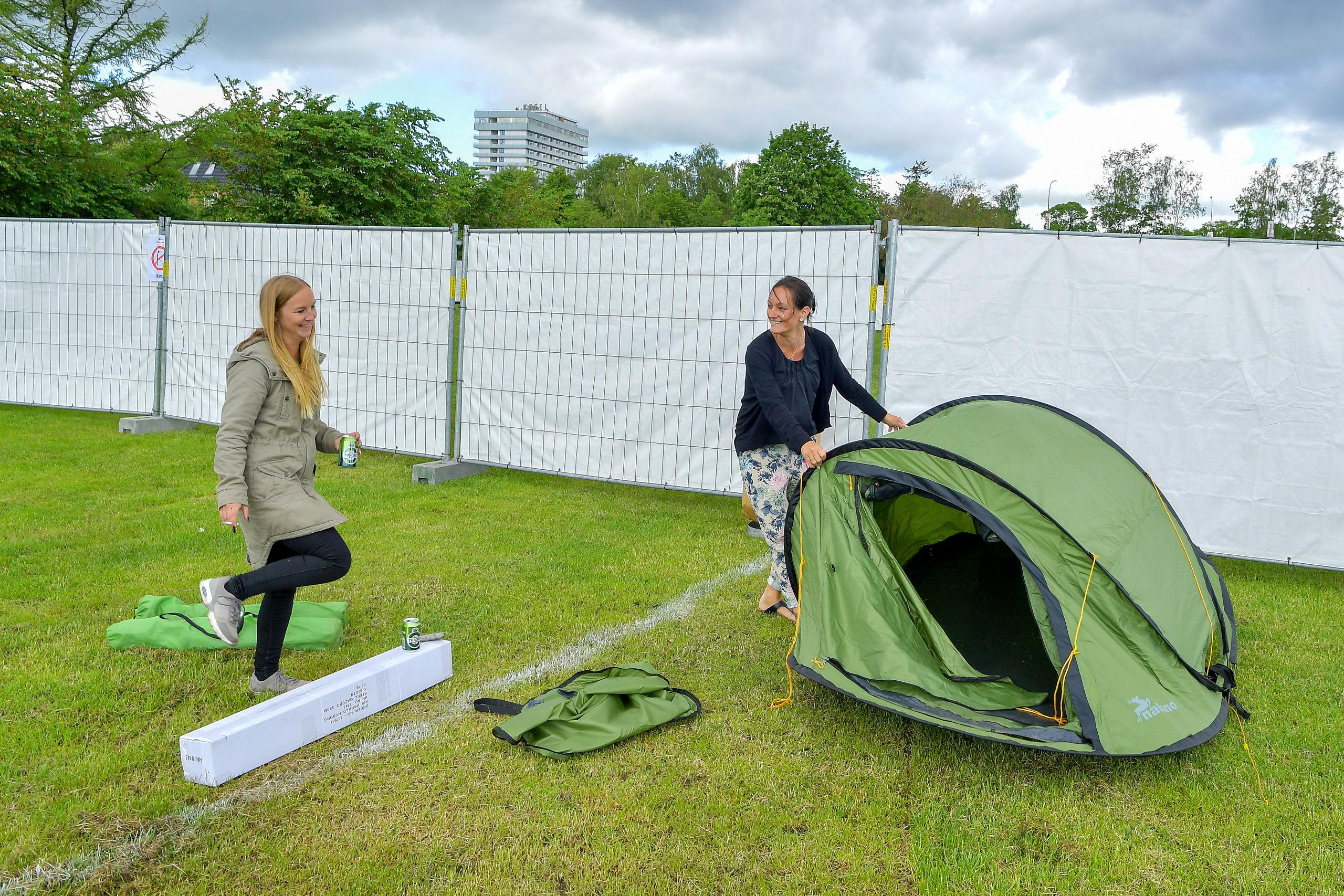 Camp Karneval indtaget: - Det er hyggeligere, sjovere og billigere end et hotelværelse