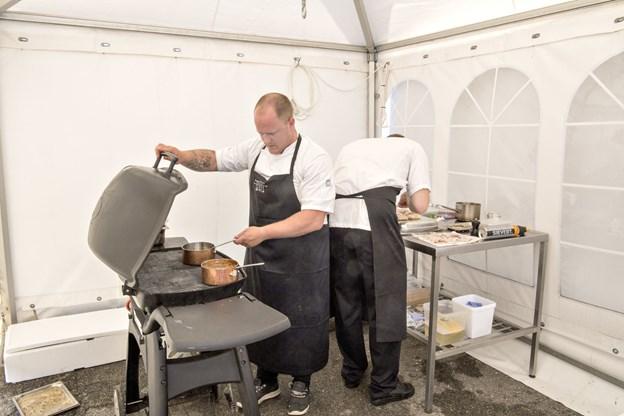 Glimt fra kokkekonkurrencen i 2017 ved Hirtshals Fiskefestival. Arkivfoto: Henrik Louis