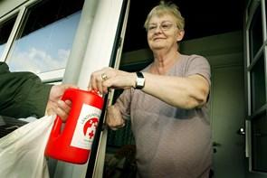Røde Kors indsamlede godt 140.000 kr.  i Thy