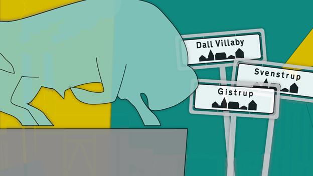 Aalborg vokser: 10 landsbyer er opslugt på 100 år - tre mindre byer er tæt på