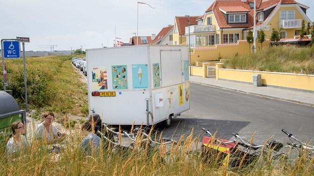Sur smiley i Skagen: Hygiejnen fejler i iskiosk