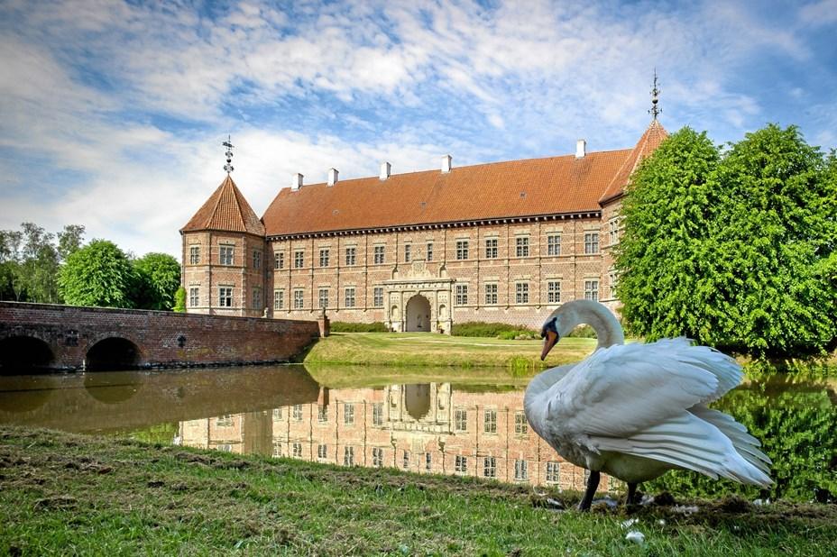 Æggejagt ved Voergaard Slot