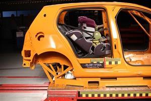 Autostol dumper sikkerhedstest