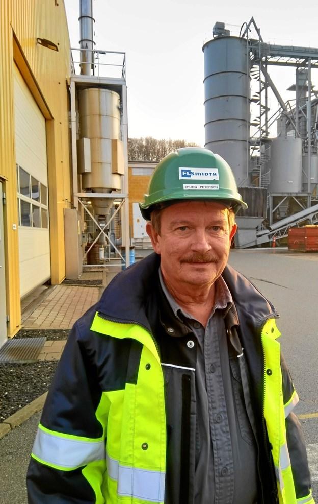 Fredag 23. november fejrer elektriker Erling Petersen på FL Smidth (Dania) sit 40 års jubilæum på virksomheden. Privatfoto