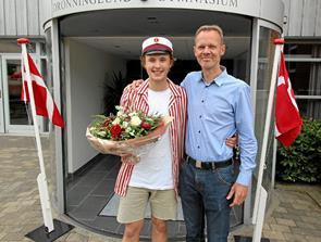 Første student klar i Dronninglund