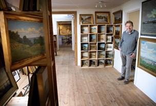 Storsamlers vilde samling af landskabsmalerier: Her kan du vælge mellem 1000 værker - inddelt geografisk