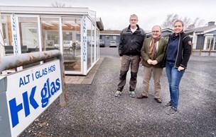 Efter 15 år på samme adresse: HK Glas indtager nedlagt bageri i Støvring