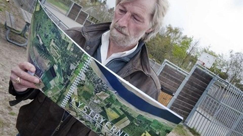 Jørgen Folkvang arbejder for ikke alene Egense, men også for de øvrige kystbyer. Arkivfoto