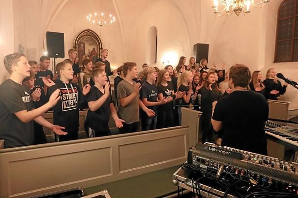 Konfirmandgospel i Vester Hassing Kirke