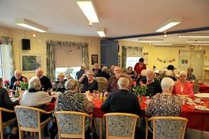 Ulsted Centerråd rundede året af med julefrokost