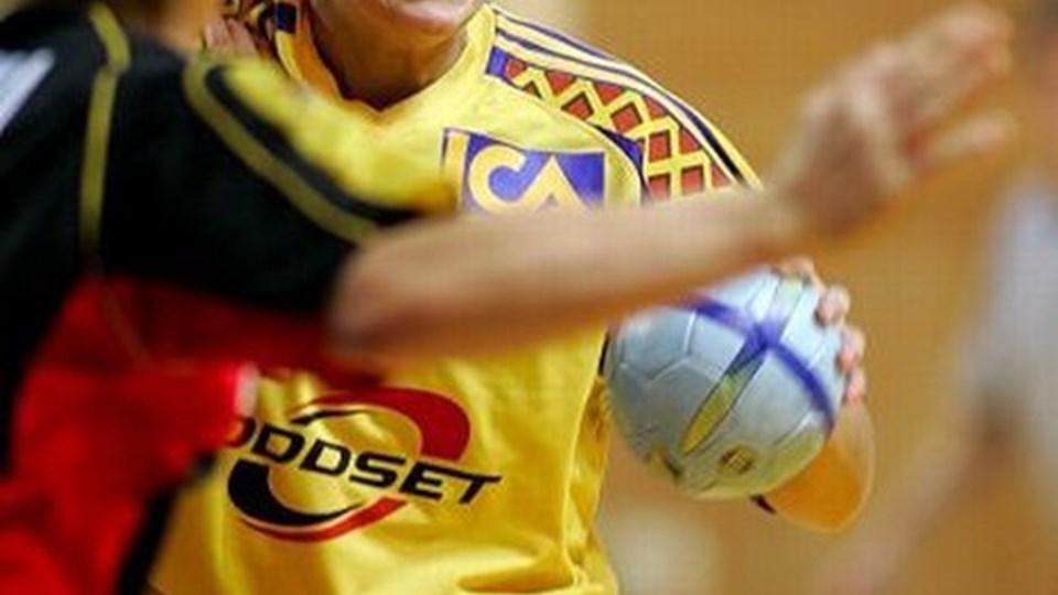Svenske Fanny Lagerström vender fra 1. juli tilbage til dansk håndbold - denne gang for at spille i Frederikshavn Fox.  Her ses hun i landsholdstrøjen. Bagspilleren er noteret for 39 A-landskampe og 122 mål for Sverige, og Fanny Lagerström er udset til at være en af profilerne hos Fox i HåndboldLigaen i næste sæson. Scanpix