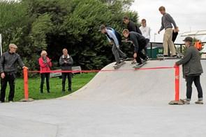 Skaterpark i Tversted