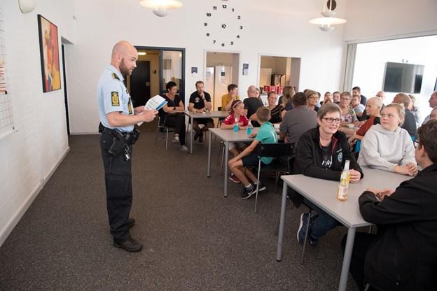 Politiassistent Thomas Olesen er også formand for Hjørring Politis Idrætsforening.Foto: Henrik Louis