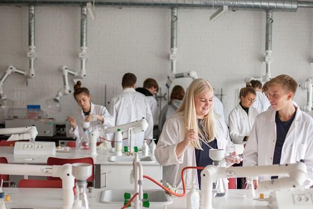 STX leverer flest elever til de naturvidenskabelige videreuddannelser
