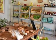 Berit har realiseret drømmen: sælger hjemmedyrkede grøntsager i egen gårdbutik