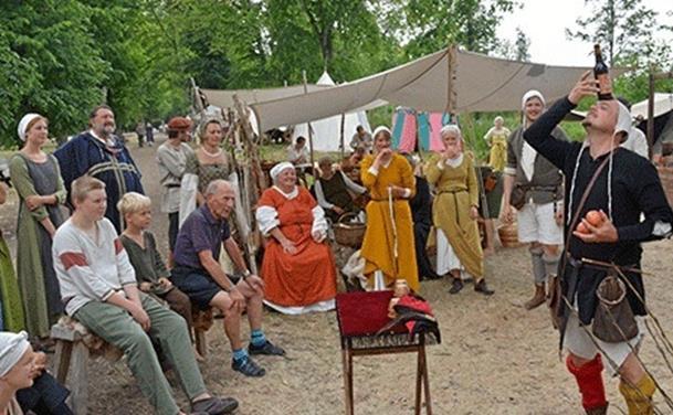 Middelalderdage på Voergaard