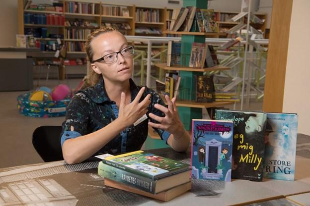 På biblioteket læselyst  Foto: Henrik Louis